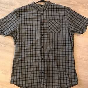 O'Neill Classic Fit Button Down Shirt, Men's XL